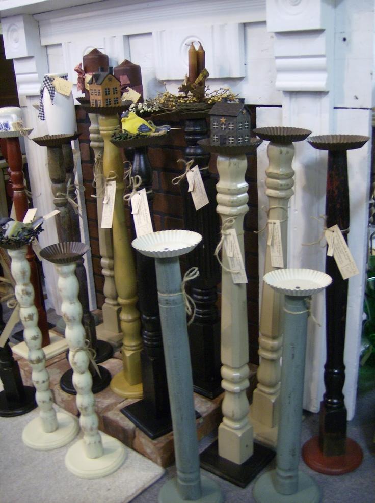 hmmmmmm... ideas for old bannister??