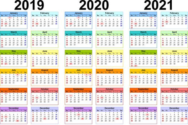 Images of Indian Calendar 2021 With Holidays And Festival