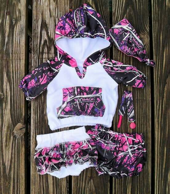 Baby muddy girl camo..love it!!