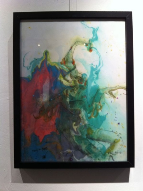 Resin art (awesome sauce)
