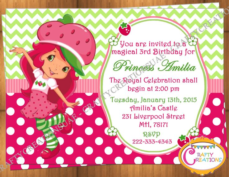 10 best Girl Birthday Invitations images on Pinterest Girl