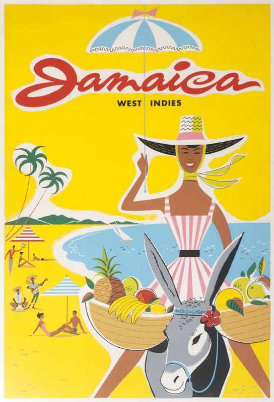 Jamaica West Indies by Tey, Mac | Shop original vintage #posters online: www.internationalposter.com.