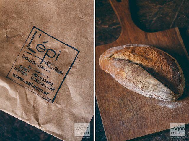 (Buenos Aires, Argentina, The Americas) #Vegan Pan De Campo at L'epi Bakery