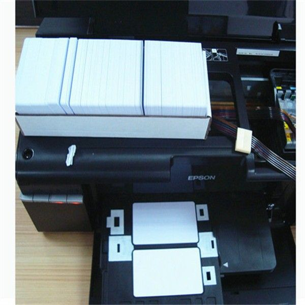 Blank PVC ID Card Tray for Epson inkjet Printer