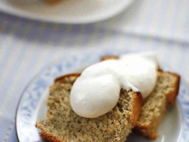 簡単!バターなしの紅茶のパウンドケーキ☆の画像