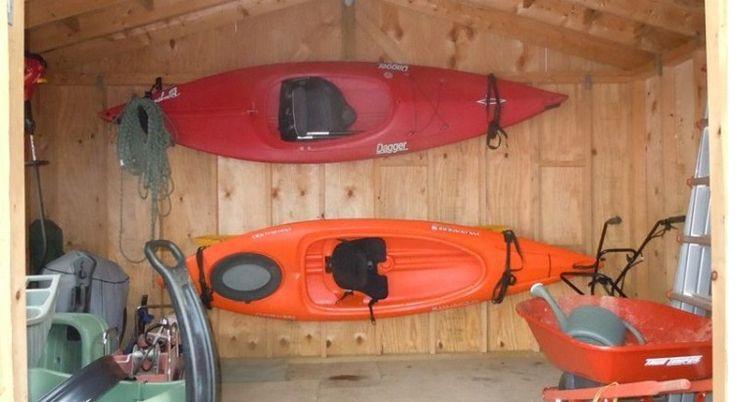 Kayak Wall Hanger >> Best Kayak Wall Mount, Wall cradle & Wall Hanger | Kayak ...