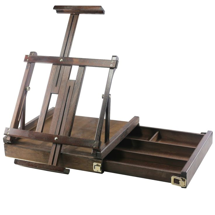 Deluxe box table easel by artists loft table easel