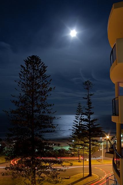 Port Macquarie at Night by paulfarrellphoto, via Flickr