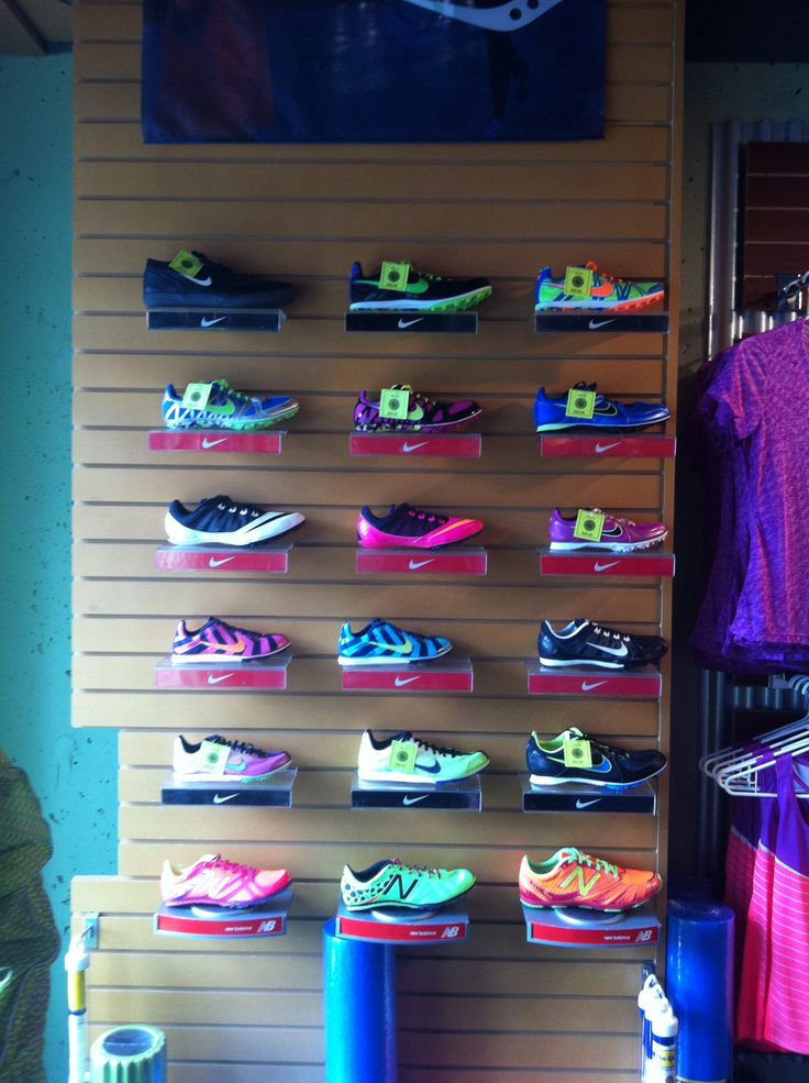 Track spikes are at The Runners' Den!!!