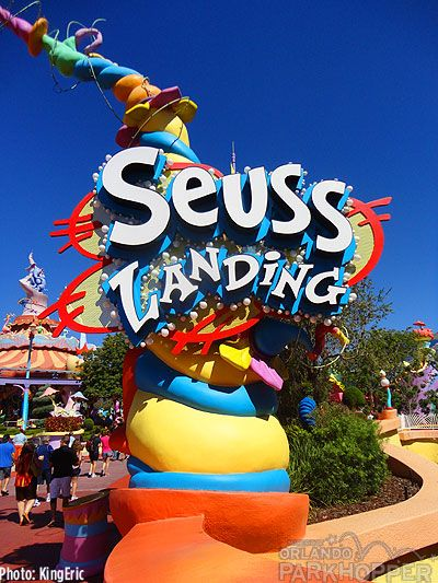 Suess Landing at Universal's Islands of Adventure has been repainted in super bright colors and looks amazing: http://micechat.com/14539-universal-orlando-transformers/