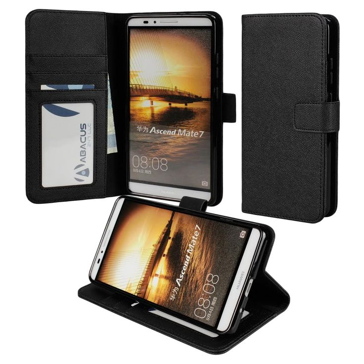 for-Huawei-Ascend-Mate-7-PREMIUM-PU-Leather-Wallet-Case-Flip-Hard-Cover-Stand