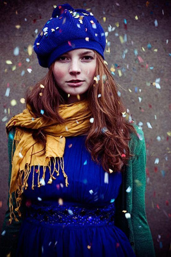 confetti: Auburn Hair, Colors Combos, Hair Colors, Cobalt Blue, Colors Combinations, Colors Palettes, Jewels Tones, Electric Blue, Bright Colors