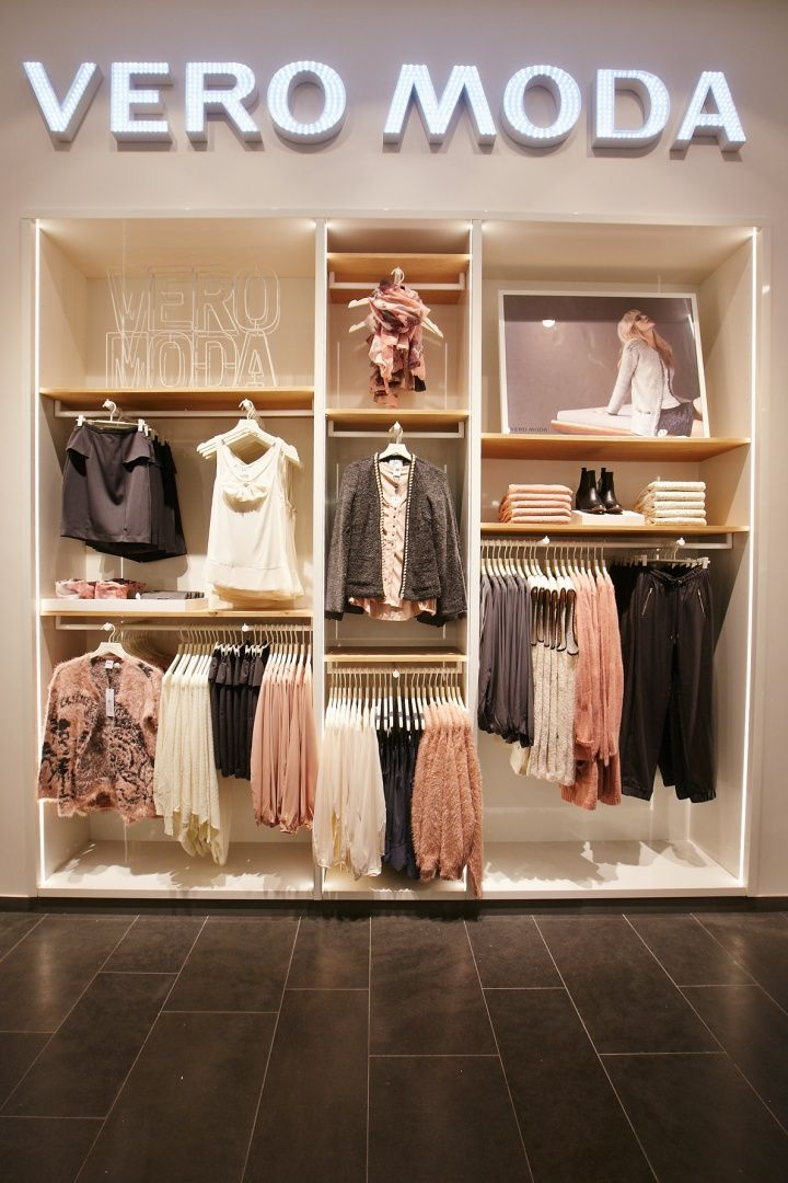 Retail Design | Shop Design | Fashion Store Interior Fashion Shops | Vero Moda Flagship Store at Alexa Mall by Riis Retail, Berlin