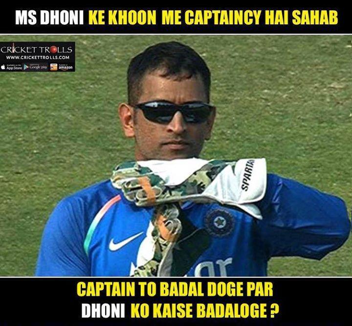 MS Dhoni (y) #INDvENG #3rdODI For more cricket fun click: http://ift.tt/2gY9BIZ - http://ift.tt/1ZZ3e4d