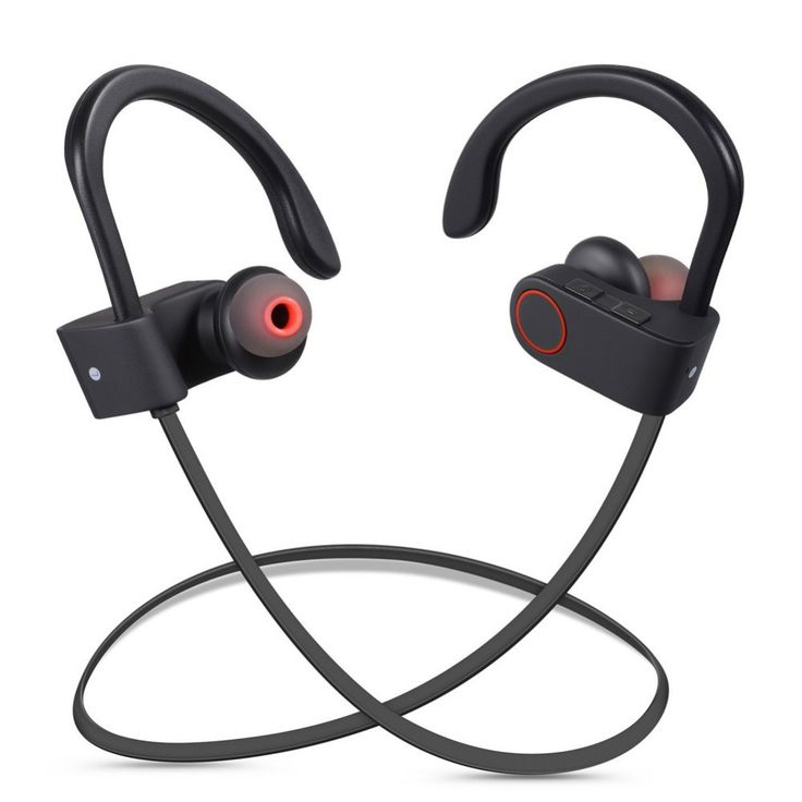 DXVROC Bluetooth Headphones Wireless Sports Headphone Sweatproof Earphones Noise Cancelling Headsets with Mic Earbud Running GYM //Price: $87.84      #sale