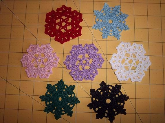 Spool Pin Doilies by RebeccasRabbitry