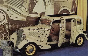 Bonnie And Clyde Death Car Photo:  This Photo was uploaded by zombiehotrod48. Find other Bonnie And Clyde Death Car pictures and photos or upload your ow...