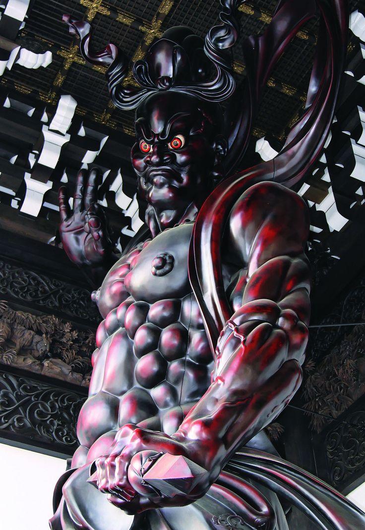 https://flic.kr/p/eeKLw2 | Buddhist statue 仏像 - 念佛宗(念仏宗無量寿寺) 山門 仁王像014…