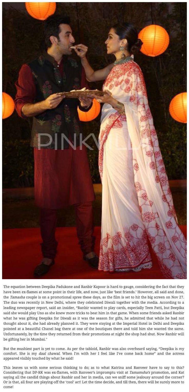 When I'm with Deepika, I feel like I've come home!: Ranbir Kapoor