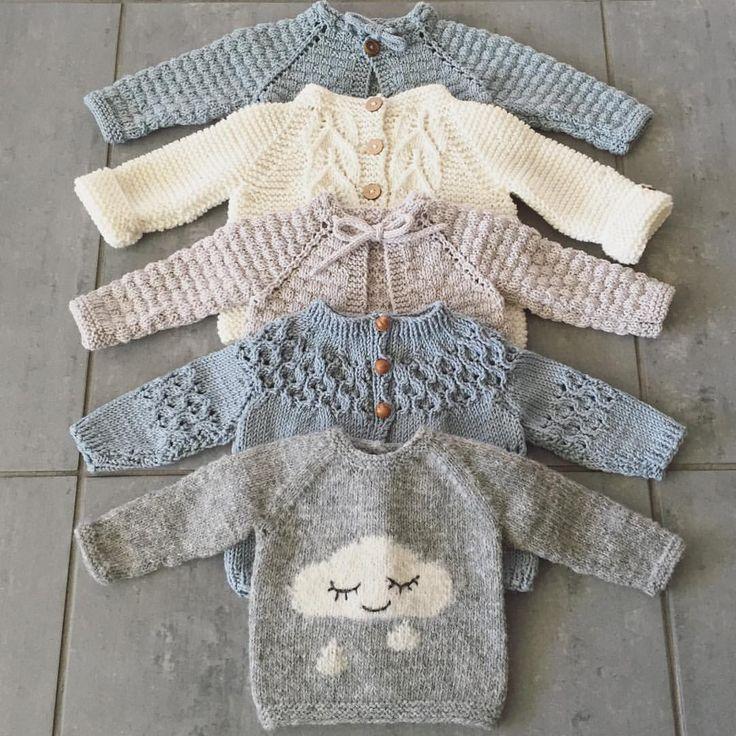 "1,970 Likes, 66 Comments - Vigdis Vikeså Drange (@mrsdrange) on Instagram: ""| Soft knits, soft colors | #babyknits #houseofyarn_norway #knitting_inspiration #knitting_inspire…"""