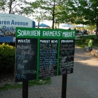 Sorauren Farmer's Market, owned and operated by the WestEnd Food Co-op!