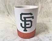 SF Giants Mug Glitter Mug Giants Giants Mug Coffee Coffee Mug Go Giants MLB Mug MLB Etsy Glitter SF San Francisco Giants SF Giants