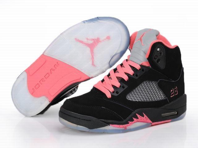 nike air jordan flight 45 high gs vivid pink black following as topkobe9low.com nike air jordan v retro