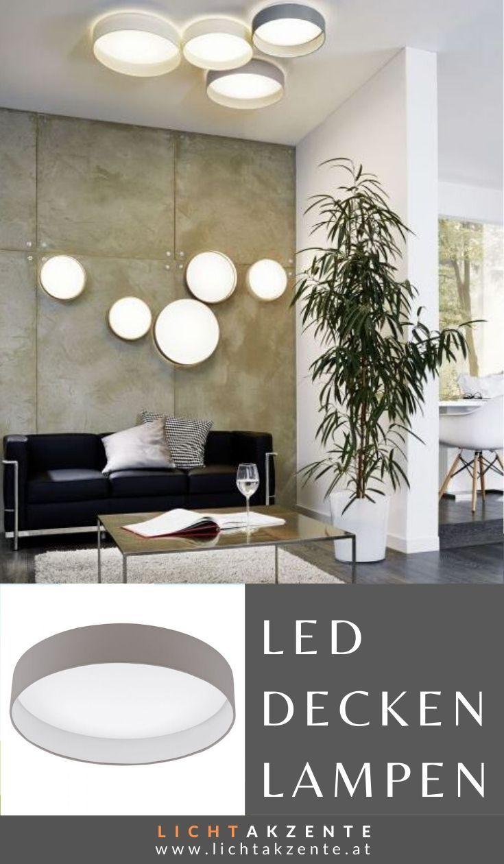 Eglo LED Deckenlampe Palomaro Ø:40cm Taupe in 2020