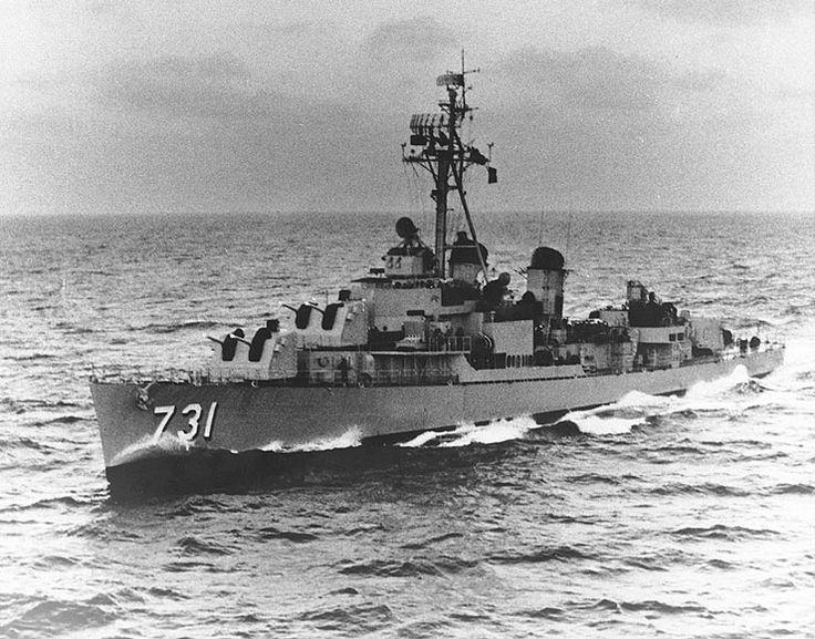 USS Maddox (DD-731) - Gulf of Tonkin incident - Wikipedia