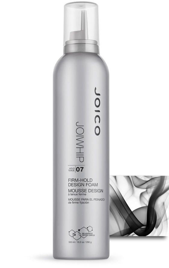 JOICO JOIWhip - firm-hold design foam - adds incredible shine, body and volume. Protects against daily environmental stress thanks to UV-protectants.
