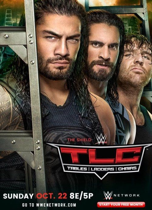 """World Wrestling Entertainment (WWE)'s 2017 """"Tables, Ladders and Chairs"""" (TLC) pay-per-view (PPV) event. ;-/"""