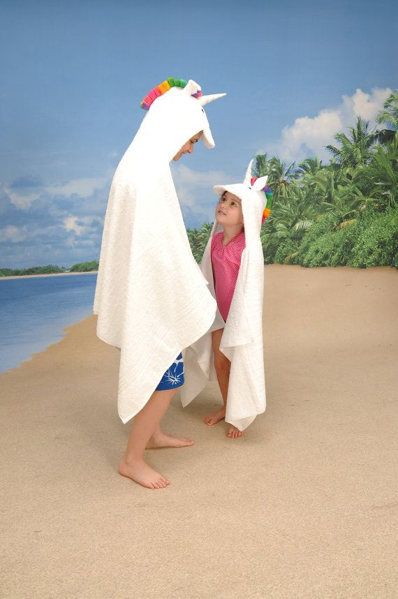 This unicorn hooded towel you will never want to take off.