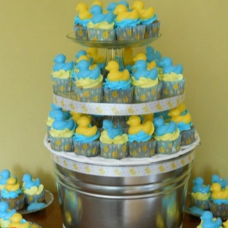 Rubber Duck Baby Shower Cupcakes Baby Baby Shower Duck Baby