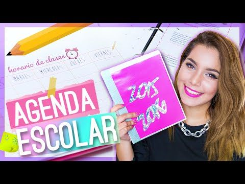 DIY Agenda Escolar 2015-2016 (Descarga + imprime + video tutorial) - Jimena Aguilar