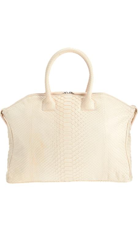 Zagliani Python Small Tomodachi Bowling Bag