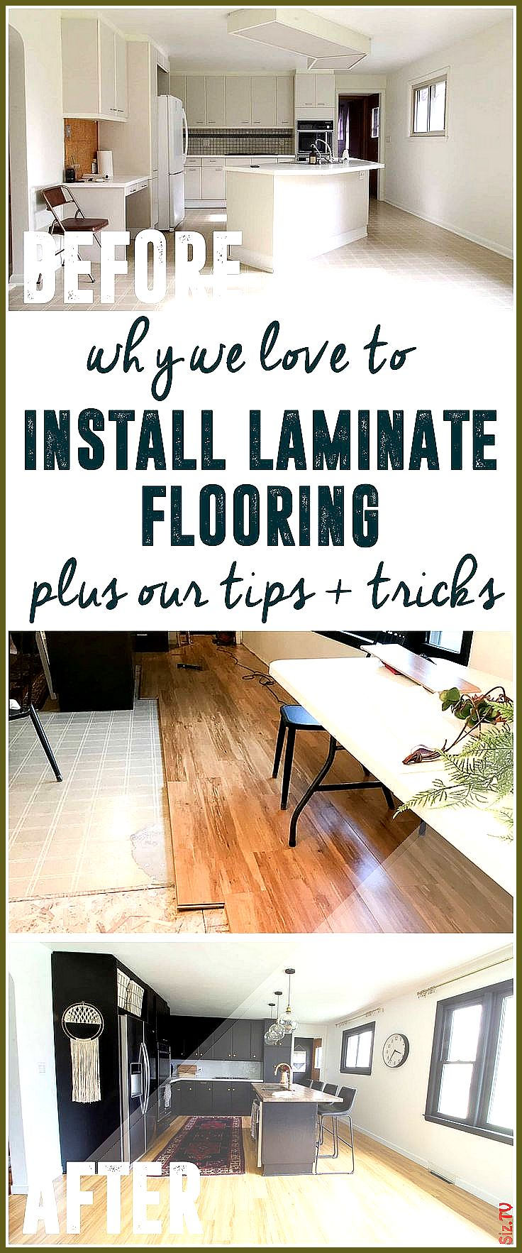 Why we LOVE to Install Laminate Flooring Tips for
