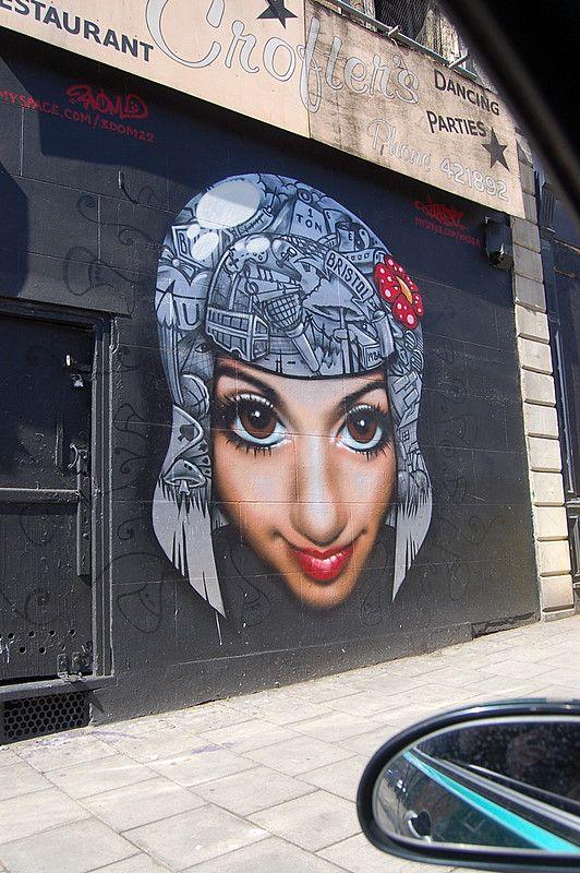 3Dom #street art #graffiti
