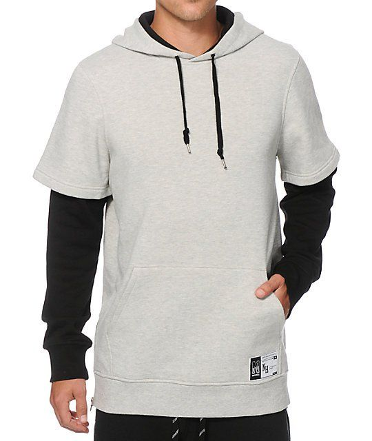 Ninth Hall Dubbed Hoodie | Gray shorts, Short sleeve hoodie and Hoodie