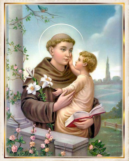 Santa María, Madre de Dios y Madre nuestra: San Antonio de Padua, 13 de Junio