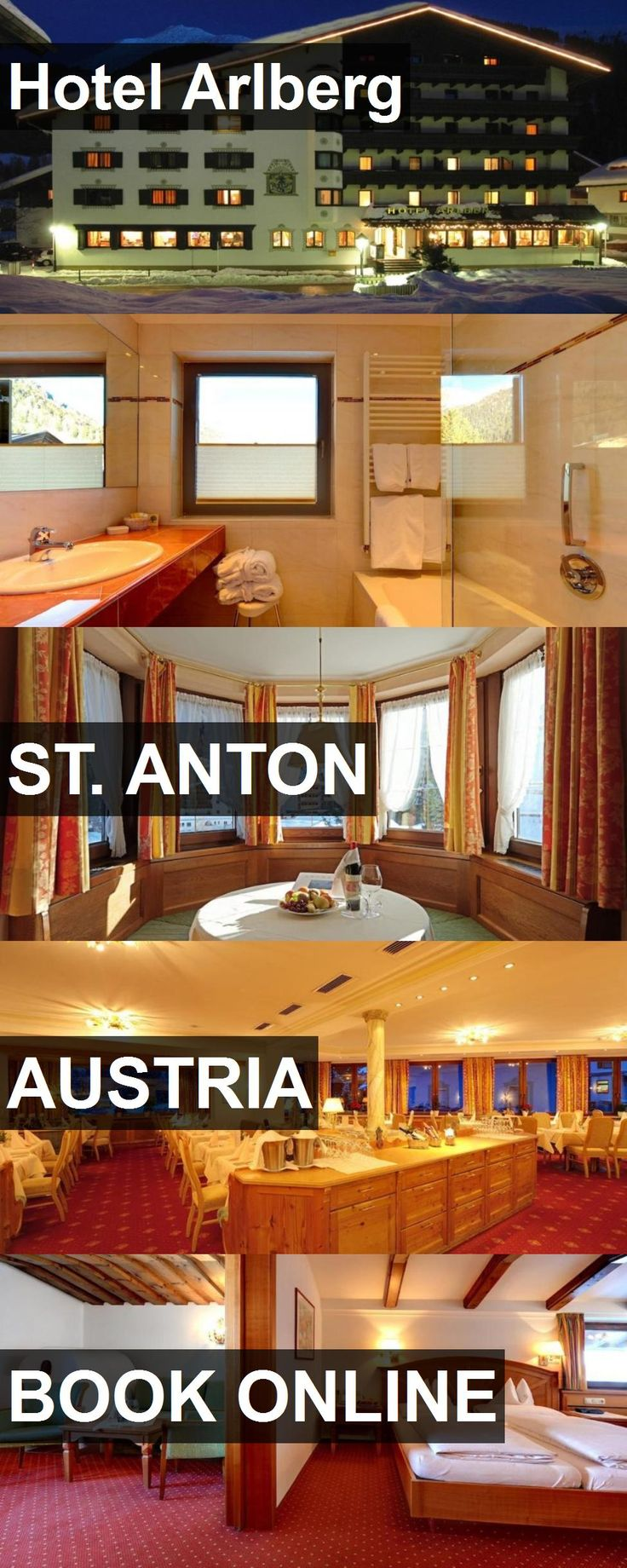 Hotel Arlberg in St. Anton, Austria. For more information, photos, reviews and best prices please follow the link. #Austria #St.Anton #travel #vacation #hotel