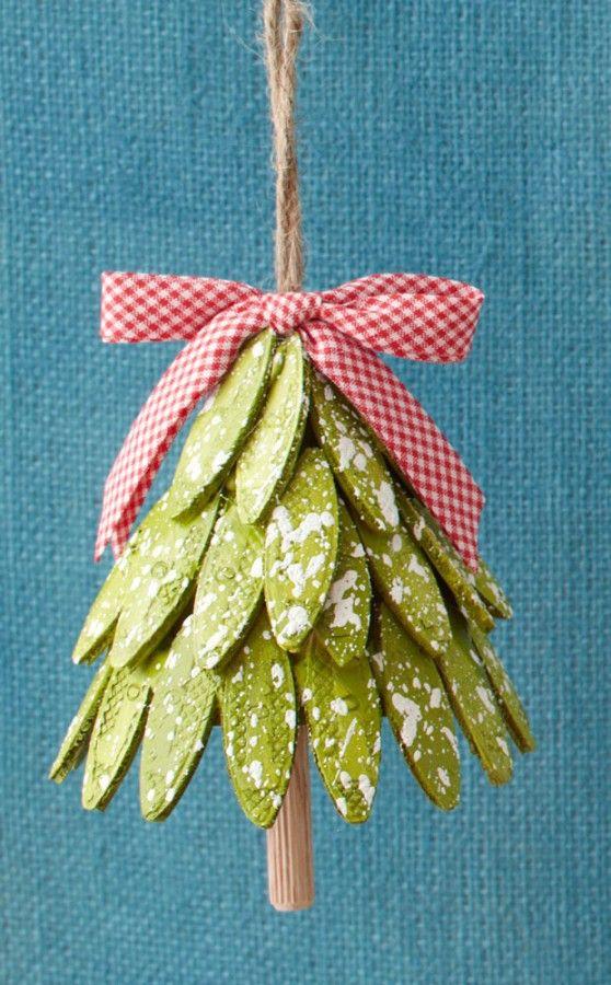DIY Christmas Ornaments  from: lowes.com via sawdustgirl.com