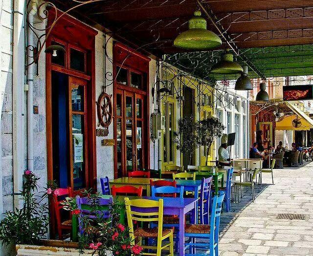 Siros Island, Greece.