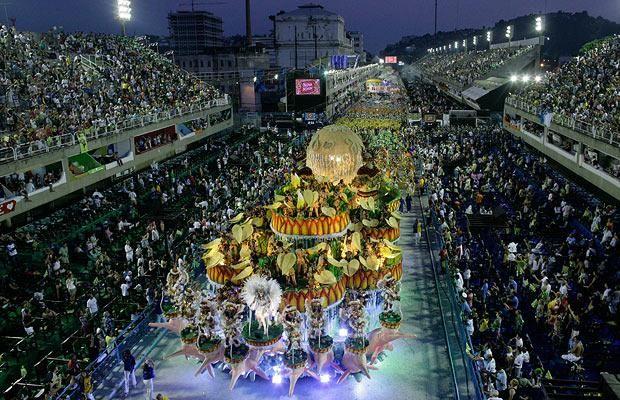 Attend Carnival in Rio de Janeiro..