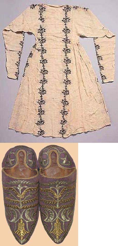 Ottomano turco Garb Una panoramica di Abbigliamento Donna