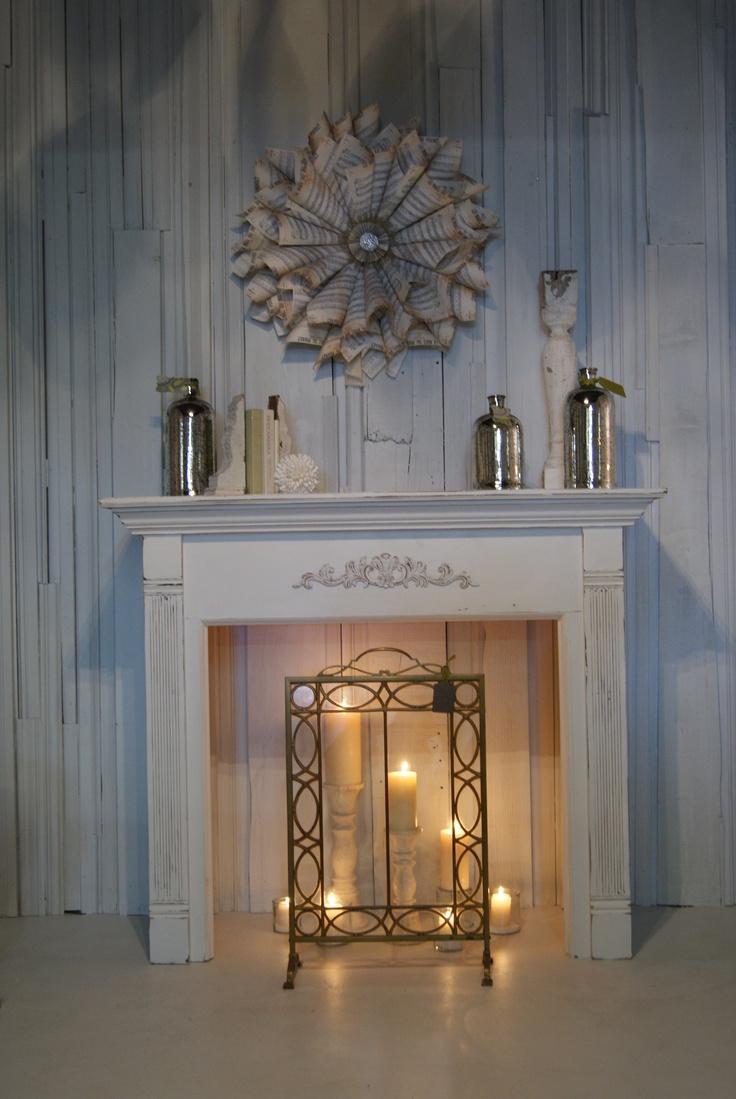 25+ best Fake mantle ideas on Pinterest | Fake fireplace mantel ...