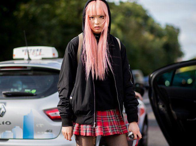 Бьюти-тренд: разноцветные волосы | Marie Claire