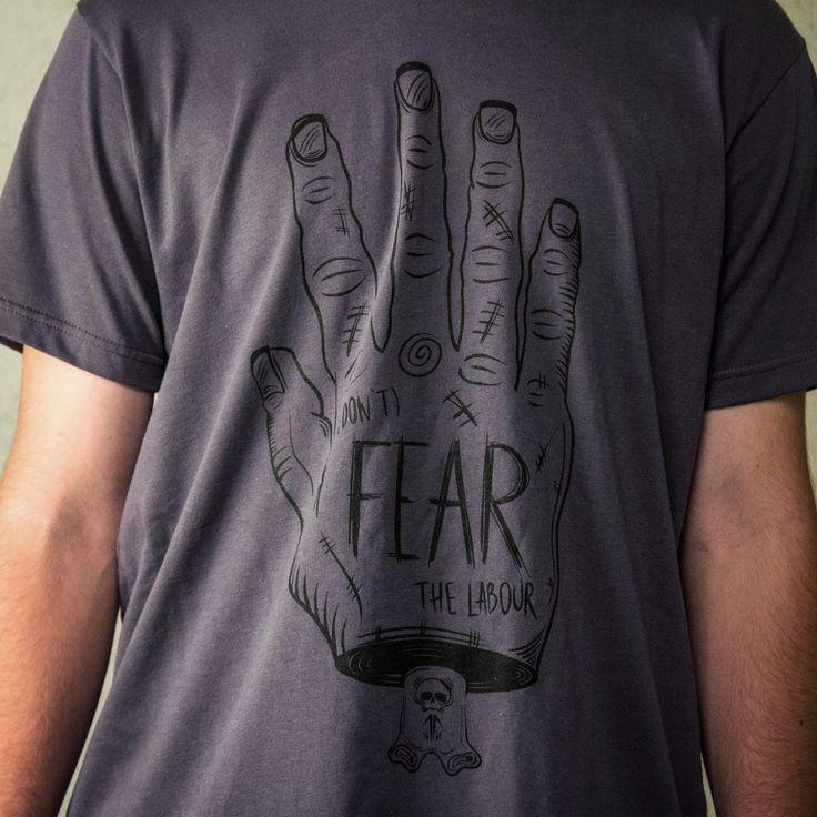 Anonbrand -> Tricouri baieti - (Don't) Fear the labour