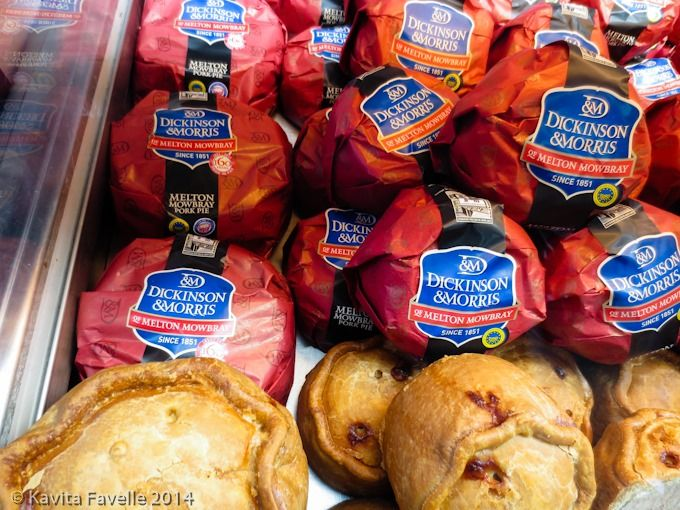 Melton Mowbray Pork Pies by Dickinson & Morris aka Ye Olde Pork Pie Shoppe