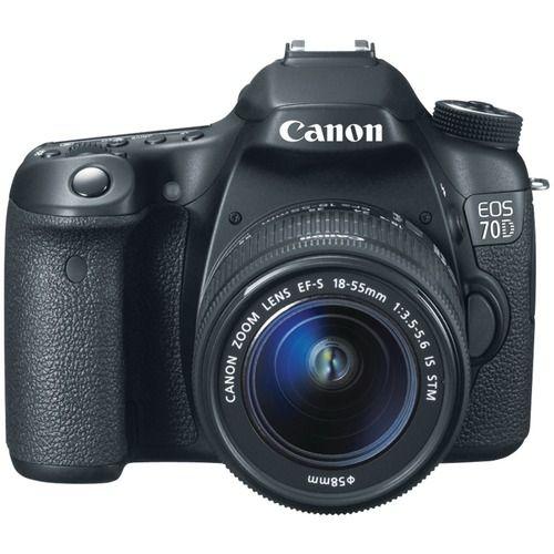 Canon 20.2 Megapixel Eos 70d Digital Slr Camera (body Only)