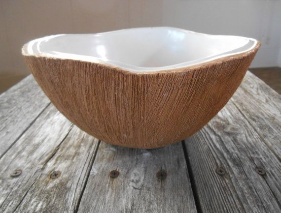 Ed Langbein Coconut BowlPunch Bowl Large by SandyLandStudio